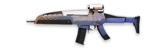 XM8 - Free Fire - Ametralladora