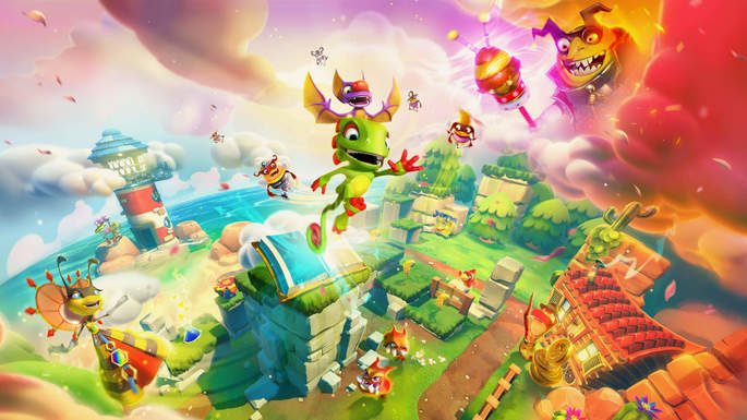 Yooka Layle and the Impossible Lair - Mejores juegos indie