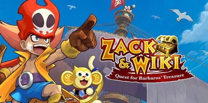Zack & Wiki Quest for Barbaros' Treasure - Juegos de Nintendo Wii